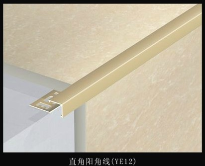 阳角条效果图-瓷砖阳角线系列