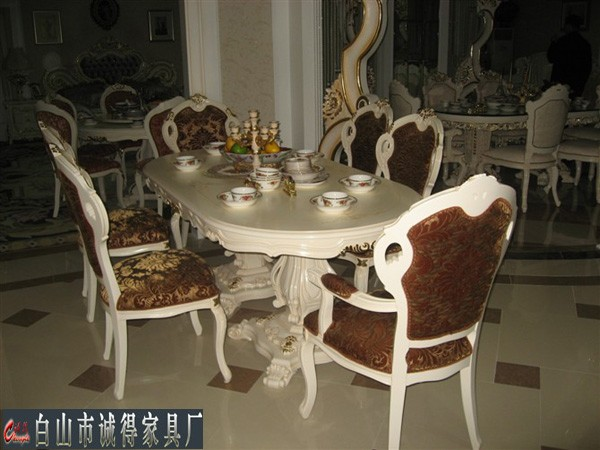 白山家具白山沙发白山欧式餐桌椅
