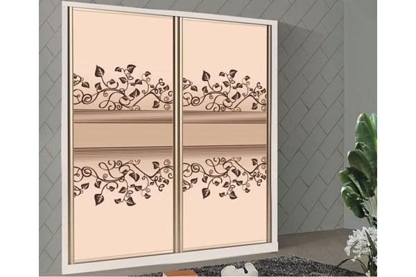 无框玻璃门 衣柜玻璃门效果图 玻璃门大衣柜效果图