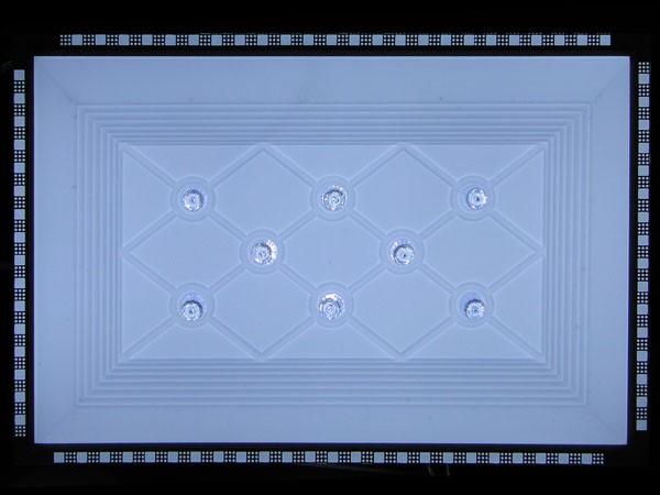 家庭灯泡面板接线图解