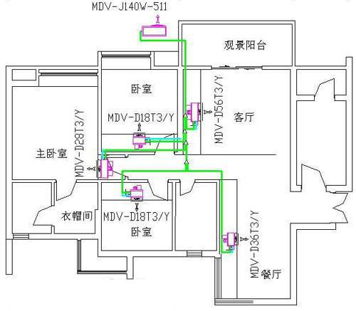 格力柜机空调结构图