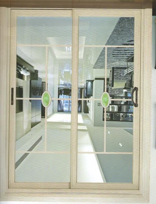 客厅移门隔断效果图 厨房钛合金移门 钛合金移门价格